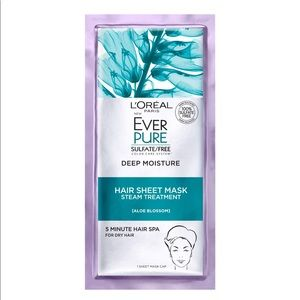 L'Oréal ever pure deep moisture hair sheet mask